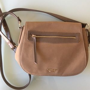 Guess suede Crossbag
